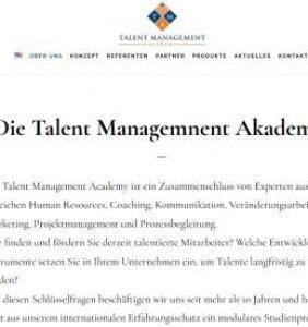 Die Talent Management Akademie