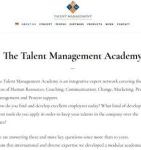 The Talent Management Academy