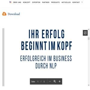 NLP im Business – Termine 2018/2019