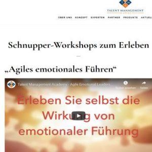 Schnupper-Workshops zum Erleben