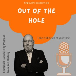 Get out of the hole